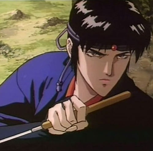 Kagero (Ninja Scroll) with blade drawn