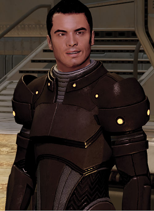 Kaidan Alenko in Mass Effect 2