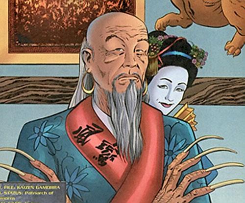 Kaizen Gamorra (Authority enemy) (Wildstorm Comics) portrait