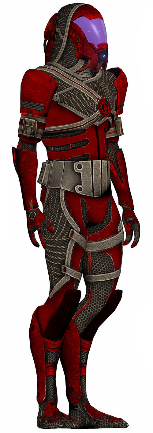 Kal'Reegar (Mass Effect) model rotated view