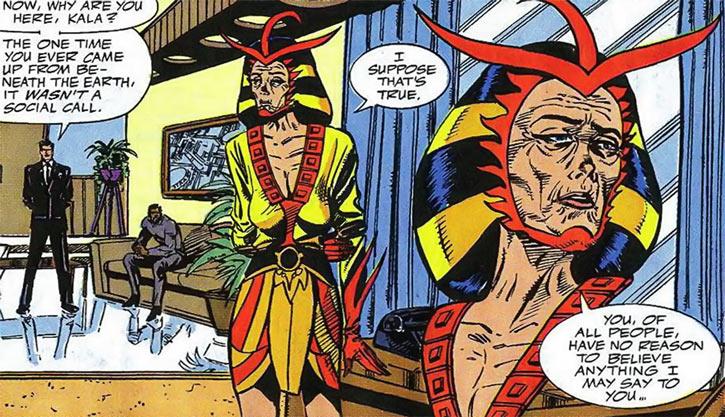 Queen Kala (Marvel Comics Subterranea) - very aged