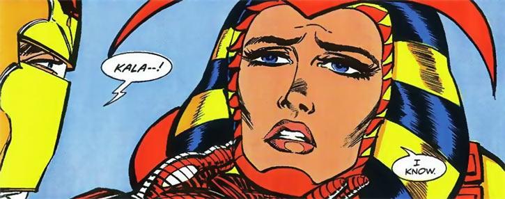 Queen Kala (Marvel Comics Subterranea) - rejuvenated face