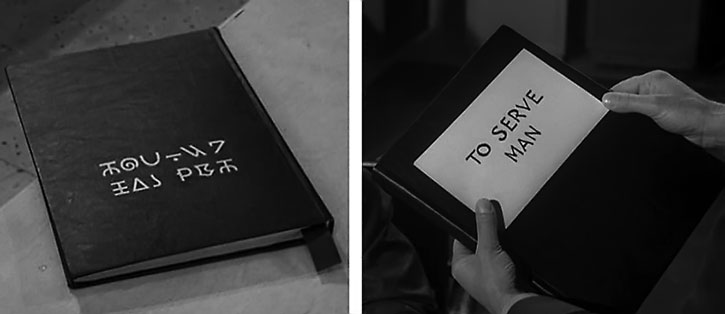 "The ""To Serve Man"" book"