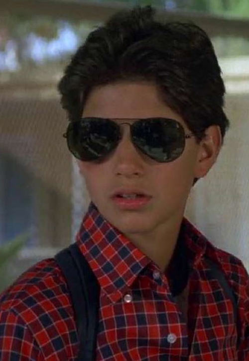 Karate Kid Daniel LaRusso - 1980s movies - Ralph Macchio - with sunglasses