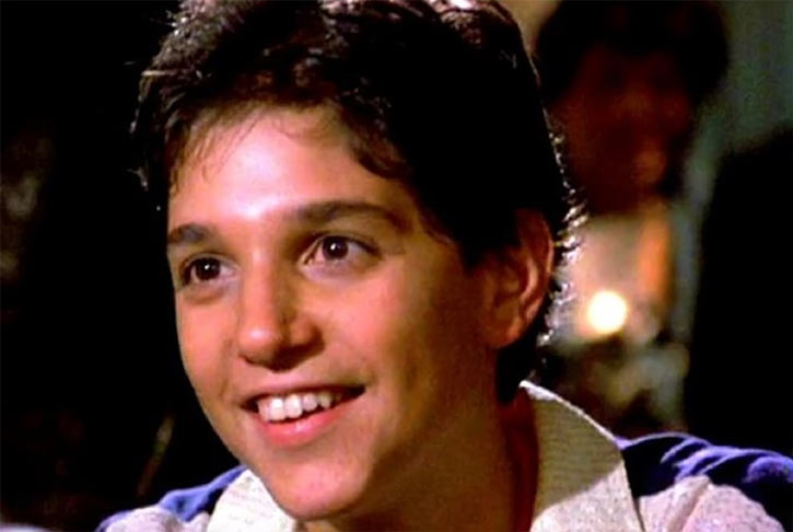 Karate Kid Daniel LaRusso - 1980s movies - Ralph Macchio - face closeup
