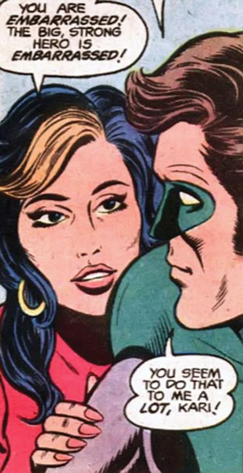 Kari Limbo (Green Lantern character) (DC Comics) and Hal Jordan