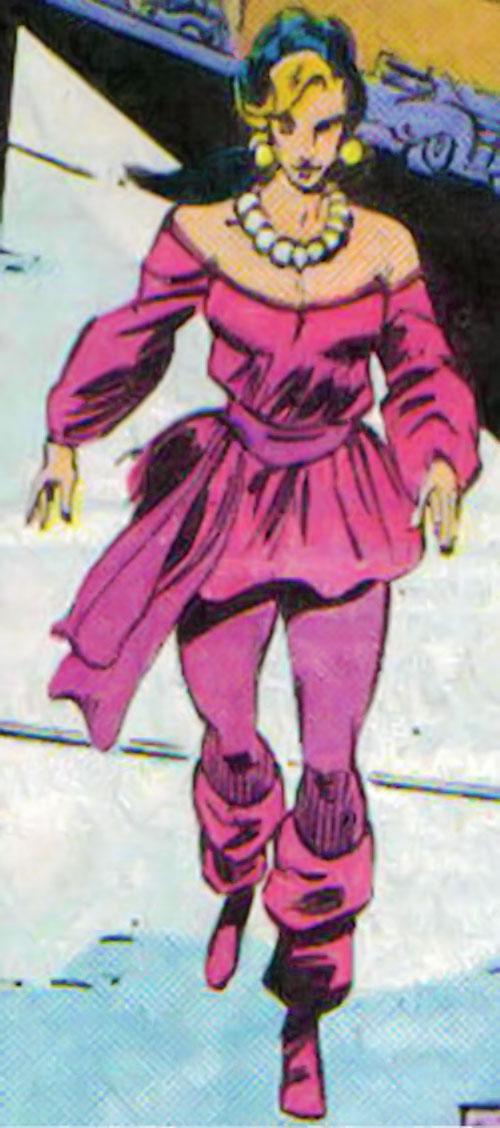 Kari Limbo (Green Lantern character) (DC Comics) walking