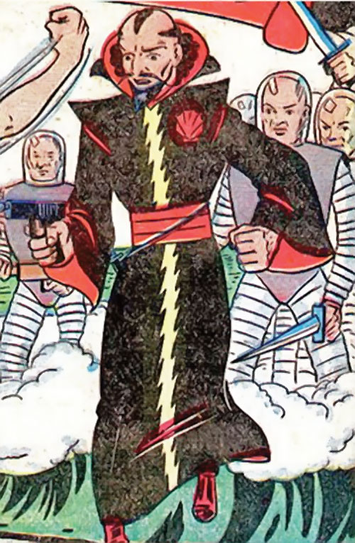 Karlak of Mu (Namora enemy) (Timely Marvel Comics)