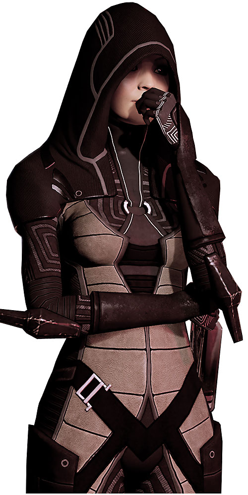 Kasumi Goto (Mass Effect) high resolution model thinking
