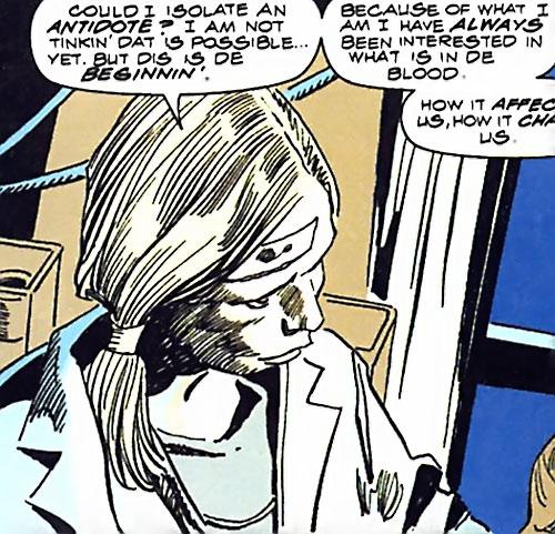 Katinka (Tomb of Dracula) (Marvel Comics) in hospital scrubs