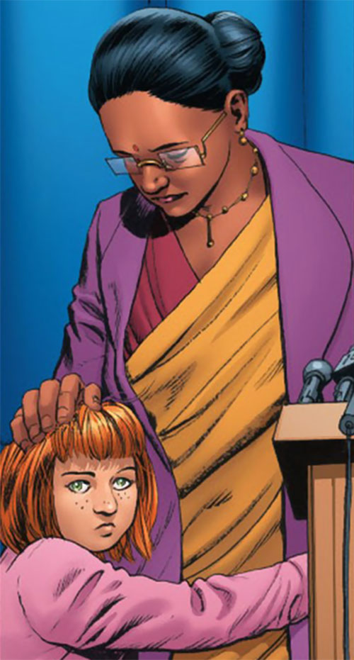Dr. Kavita Rao of the X-Club (X-Men ally) (Marvel Comics)