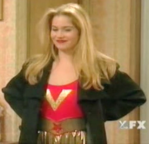 Kelly Bundy (Christina Applegate in Married With Children) heroine costume