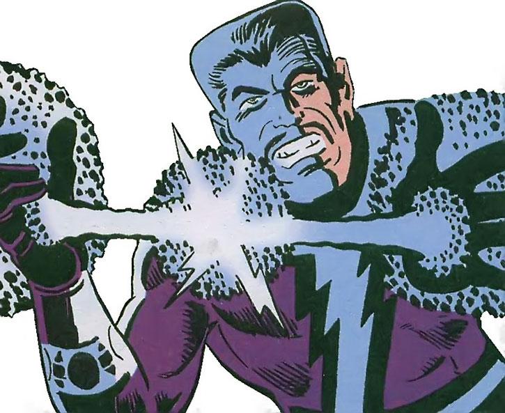 Kempo wielding blue energy