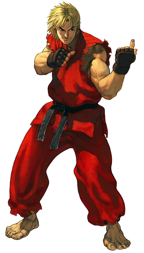 Ken Masters from Street Fighters