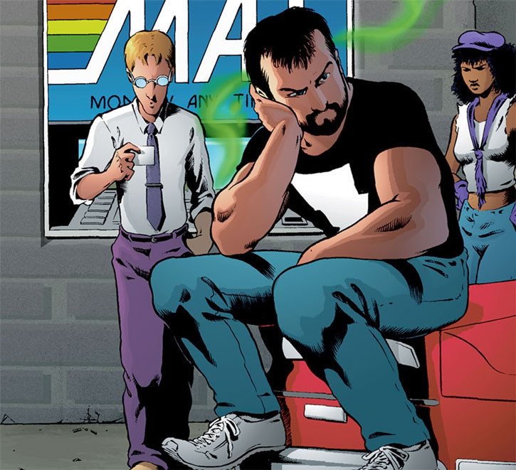 Kevin Matchstick (Matt Wagner's Mage Hero Discovered) with Sean and Edsel