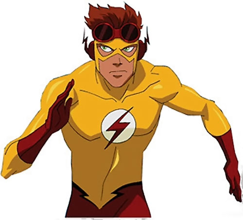 Kid Flash Young Justice Cartoon Series Character