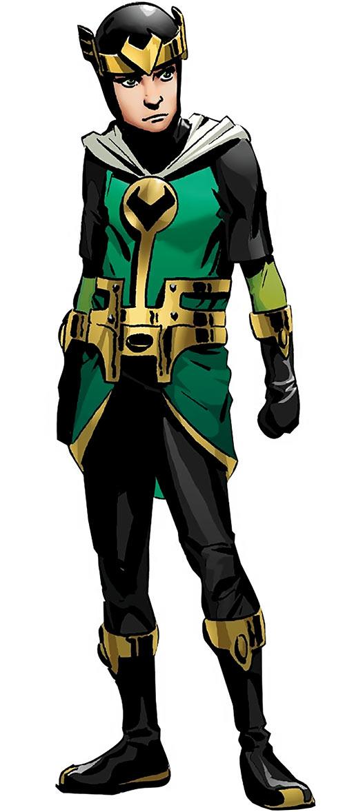 Kid Loki - Marvel Comics - Journey into Mystery - Handbook art