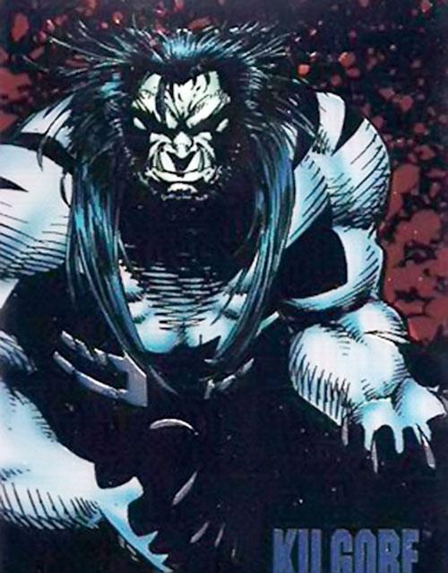 Kilgore (Image Comics) in darkness