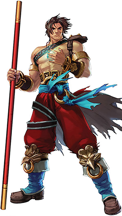 Kilik from Soul Calibur