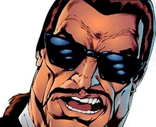 Kill-Cat (Erik Larsen Image Comics) face closeup