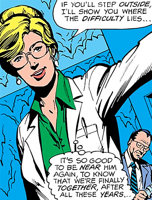 Dr. Crystal Frost (Firestorm character) (DC Comics) before becoming Killer Frost