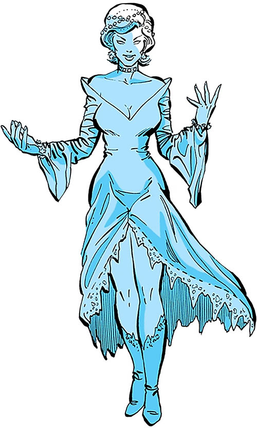 Killer Frost (Firestorm enemy) (DC Comics) (Crystal Frost)