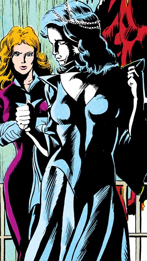 Killer Frost (Firestorm enemy) (DC Comics) (Lincoln) and Plastique