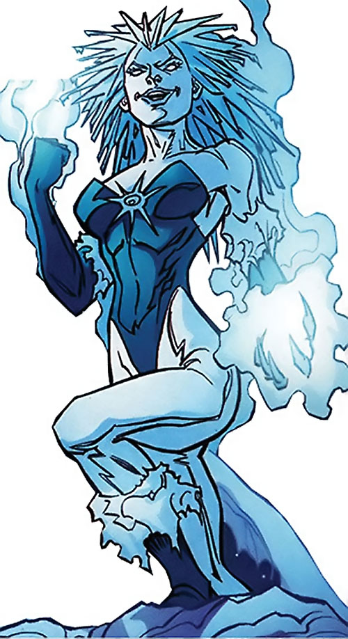 Killer Frost (DC Comics) (Lincoln mutated by Neron)