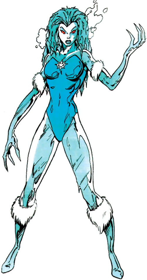 Killer Frost (DC Comics) (Lincoln mutated by Neron) early appearance