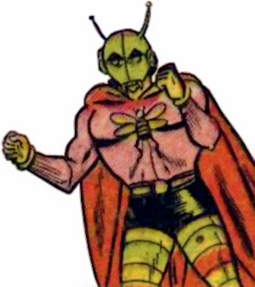 Killer Moth (Bob Kane Batman enemy) (DC Comics) ranting