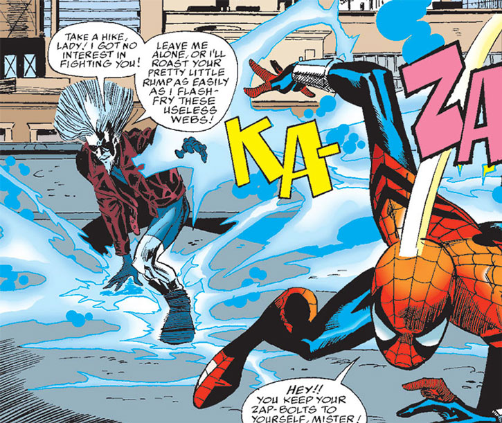 Killerwatt vs. Spider-Girl