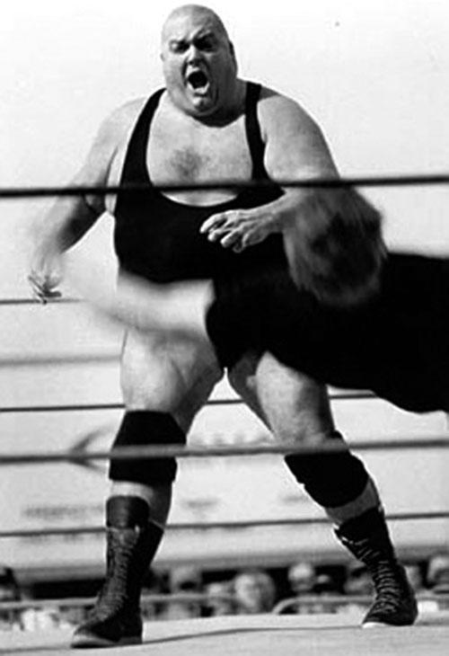 King King Bundy in the ring