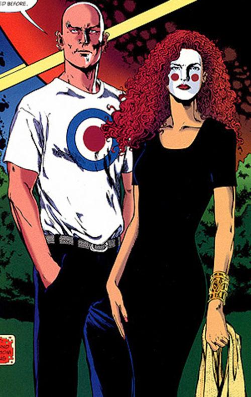 King Mob of the Invisibles (Vertigo Comics) and Ragged Robin