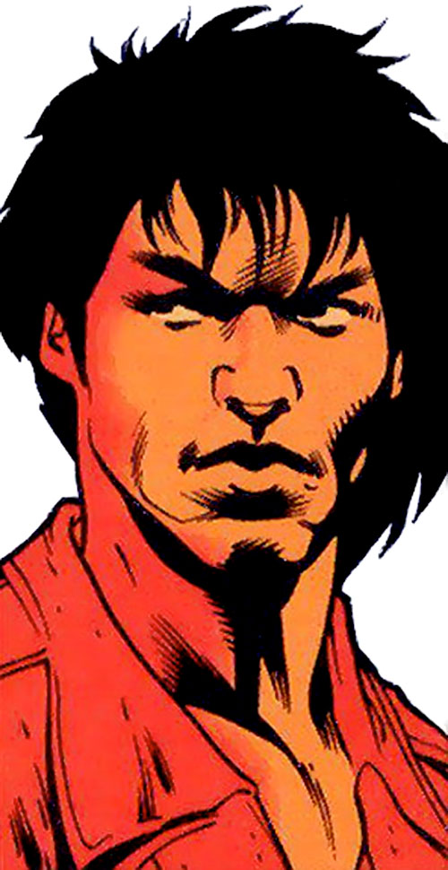King Tiger (Dark Horse comics) face closeup