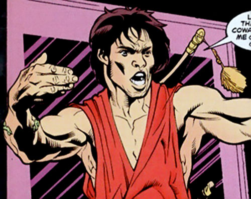 King Tiger (Dark Horse comics) taunting his enemies