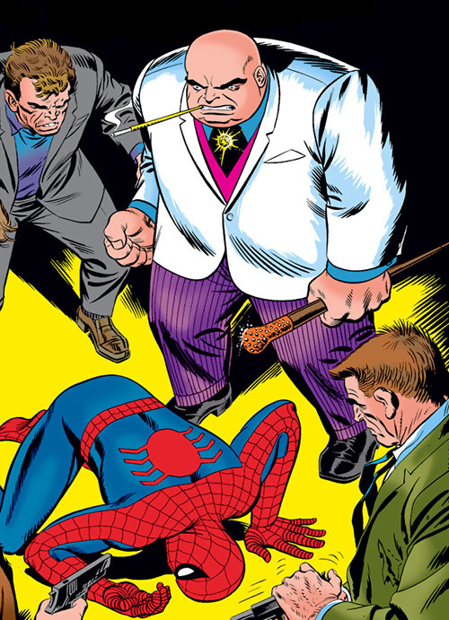The Kingpin (Marvel Comics) during the 1960s