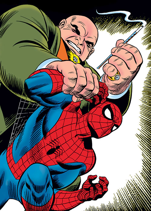 The Kingpin (Marvel Comics) vs. Spider-Man