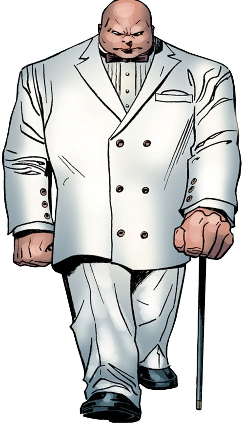 The Kingpin (Marvel Comics) in a white suit