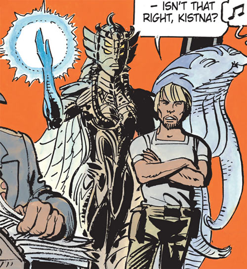 Kistna of the Masters (Valerian and Laureline) with Jal and Ralph