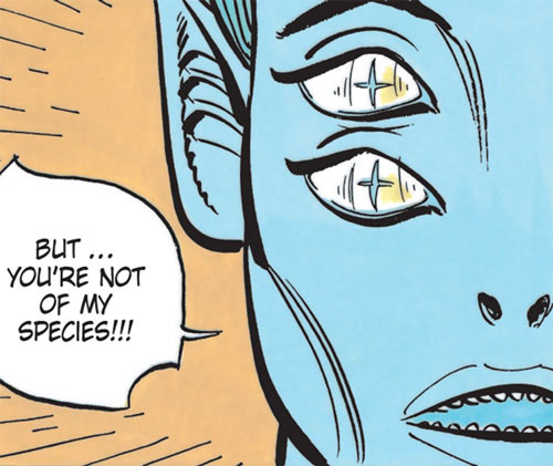 Kistna of the Masters (Valerian and Laureline) unmasked face