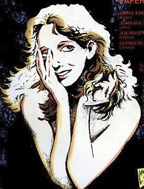Kitty Pryde of the X-Men portrait (Marvel Comics)