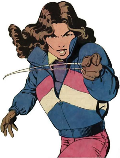 Kitty Pryde of the X-Men (Early) (Marvel Comics) Professor X is a jerk