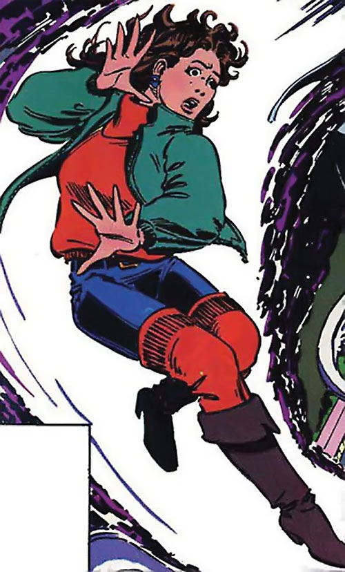 Kitty Pryde of the X-Men (Early) (Marvel Comics) leg warmers
