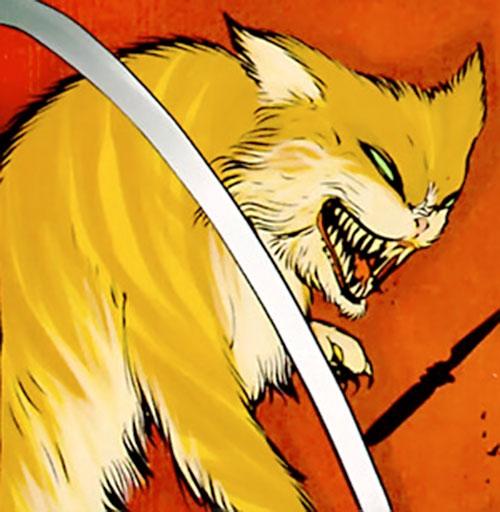 Teekl, Klarion's draaga-cat (7 Soldiers) (DC Comics)