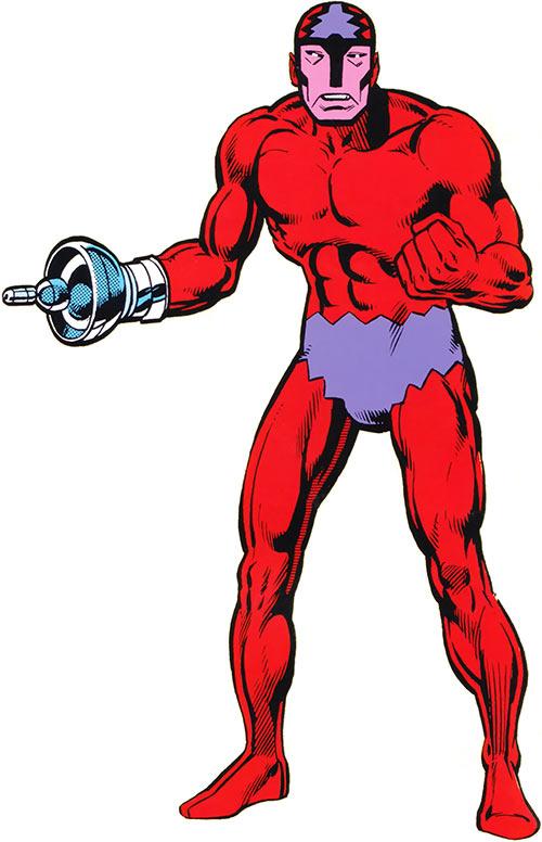 Klaw (Marvel Comics) older handbook picture
