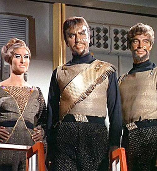 Smiling Klingons (STar Trek) from the Original Series era