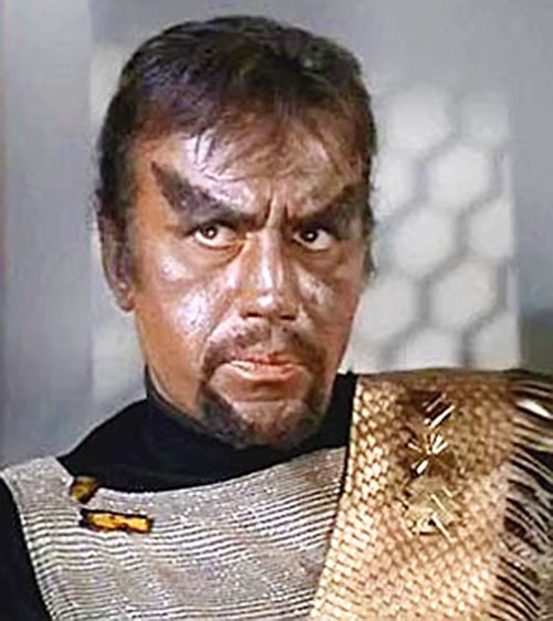 Grumpy Klingon (STar Trek) from the Original Series era