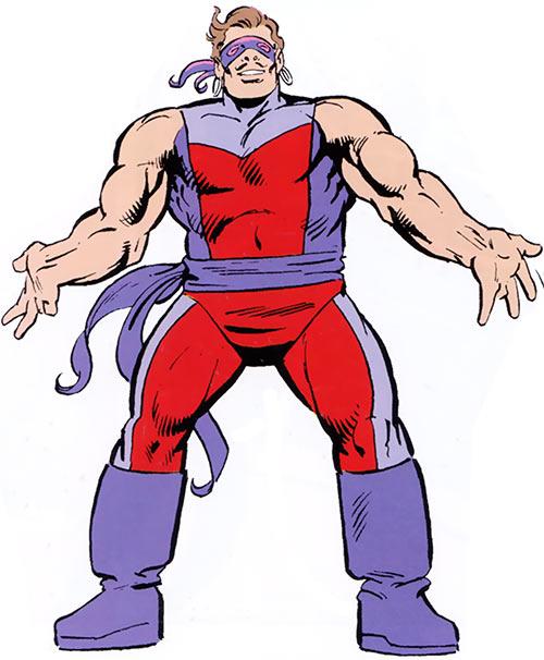 Knickknack of the Death-Throws (Hawkeye enemy) (Marvel Comics)
