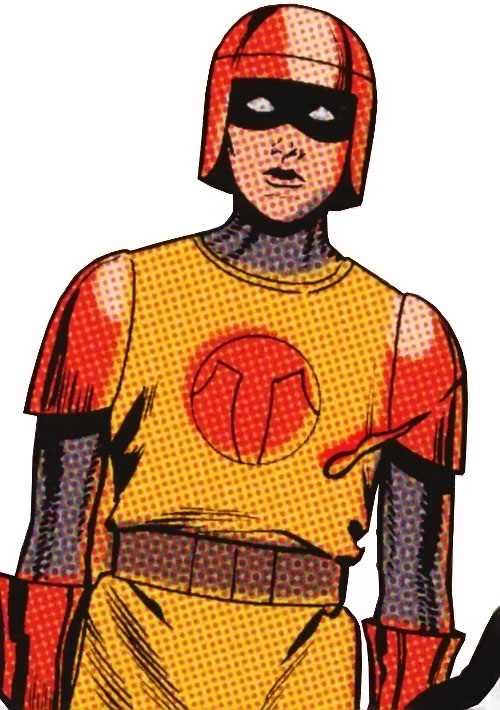 Knight (Batman ally) (DC Comics) (Sheldrake) as the first Squire