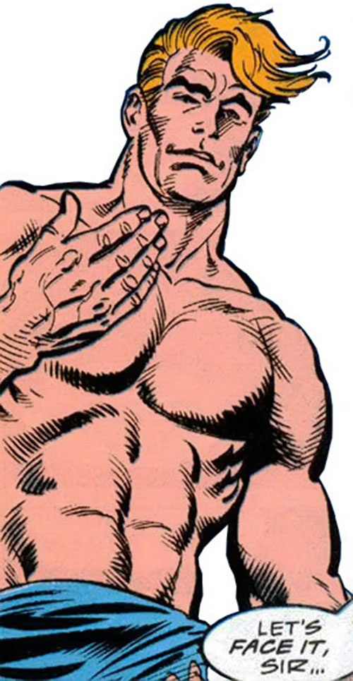 Knockabout (Marvel Comics) bare-chested